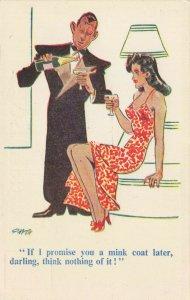 Comic Postcard Garland, Rudolf & Co. W123, Seaside Joke, Humour KK9