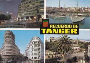 TANGER , Morocco , PU-1971 ; Plaza de Francia-Darsena del Yachting Club