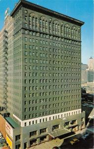 Chicago Illinois~YMCA Hotel~South Wabash Avenue~1950s Postcard