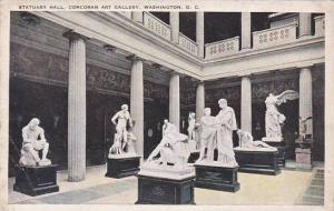 Washington DC Statuary Hall Corcoran Art Gallery 1923