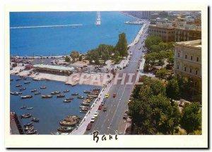 Postcard Modern Bari Lungomare