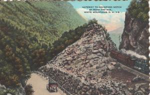 US    PC2210  GATEWAY TO CRAWFORD NOTCH, WHITE MOUNTAINS, NH