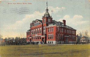 H83/ Boise Idaho Postcard c1910 Boise High School Building 53