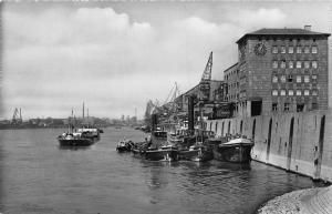 Mannheim Rheinpartie River Boats Postcard