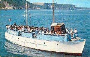 British Wales Postcard Motor Vessel Enterprise