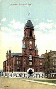 City Hall in Lewiston, Maine