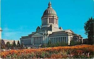Washington State Capitol Olympia WA Chrome Postcard