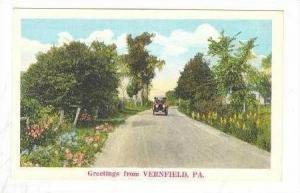 Scene, Greetings From Vernfield, Pennsylvania, 1900-1910s