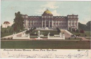 Botanical Gardens Museum - Bronx Park - New York City - pm 1909 - DB