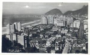 Brazil, Bresil, Brasil Rio De Janeiro Copacabana Real Photo
