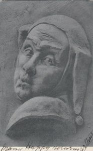 Jester Portrait , 1900-1907 ; TUCK