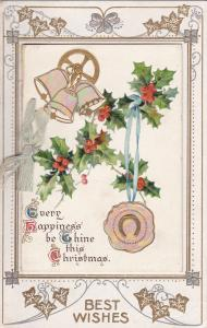 CHRISTMAS: Mother-of-Pearl Booklet , Bells , 00-10s