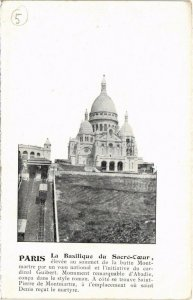 CPA PARIS 9e - Basilique du Sacré-Coeur (77759)