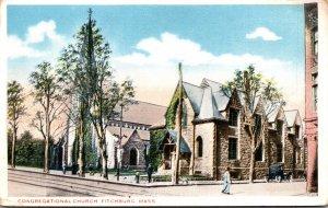Massachusetts Fitchburg Congregational Church