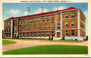 New York Adirondacks Oswego Industrial Arts Building State Normal School 1943