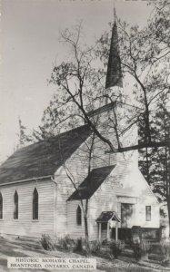 RP: BRANTFORD , Ontario, 1930-40s ; Old Mohawk Chrch