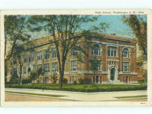 Linen HIGH SCHOOL SCENE Washington Court House Ohio OH E2294