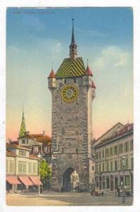 Street Scene & Stadtturm / Clock Tower,Baden,Germany 1900-10s
