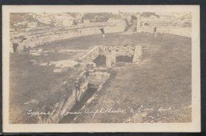 Italy Postcard - Syracuse - Roman Amphitheatre & Lions Dens   RS16002