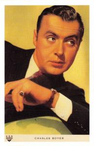 Nostalgia Postcard Actor Charles Boyer 1897-1978 Reproduction Card NS30