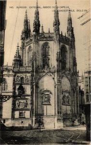 CPA Burgos Catedral, Abside de la Capilla SPAIN (744029)