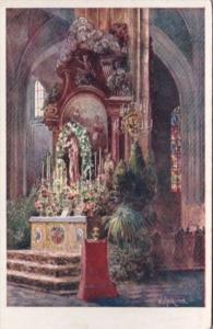 Austria Wien Vienna Stefanskirche Marienalter