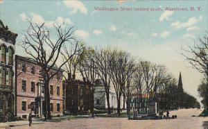 Washington Street Looking South, Watertown, New York, PU-1908