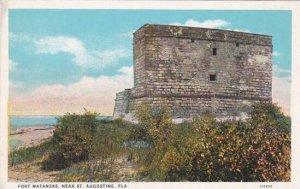 Florida Saint Augustine Fort Matanzas