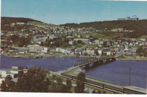 Scenic Greetings from the town of Gaspe,  Quebec,  Canada,  40-60s