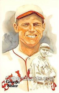 George Sisler, First Baseman Artist Perez Unused