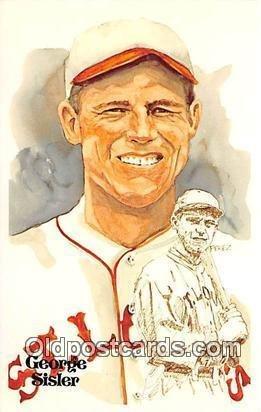 George Sisler, First Baseman Artist Perez Unused
