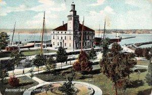 SAULT STE MARIE, Michigan MI     GOVERNMENT PARK & LOCK     1907 Postcard
