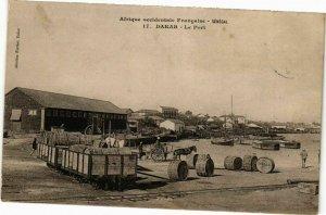 CPA AK Senegal Fortier 17. Dakar-Le Port (235280)
