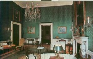 Washington DC - The White House ? Green Room unused Postcard