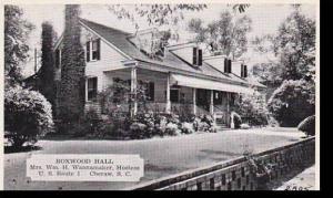 South Carolina Cheraw Boxwood Hall Dexter Press Archives