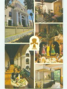Five View On Card - Gran Casino Hotel - Old San Juan Puerto Rico PR HQ2751