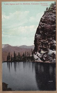 ALBERTA, Canada, 1900-1910s; Lake Agnes And The Beehive, Canadian Rockies