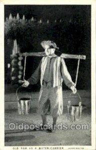 Old Tom as a water carrier Opera Unused internal creases, water stains on bac...