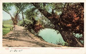 Postcard Swannanoa Asheville North Carolina