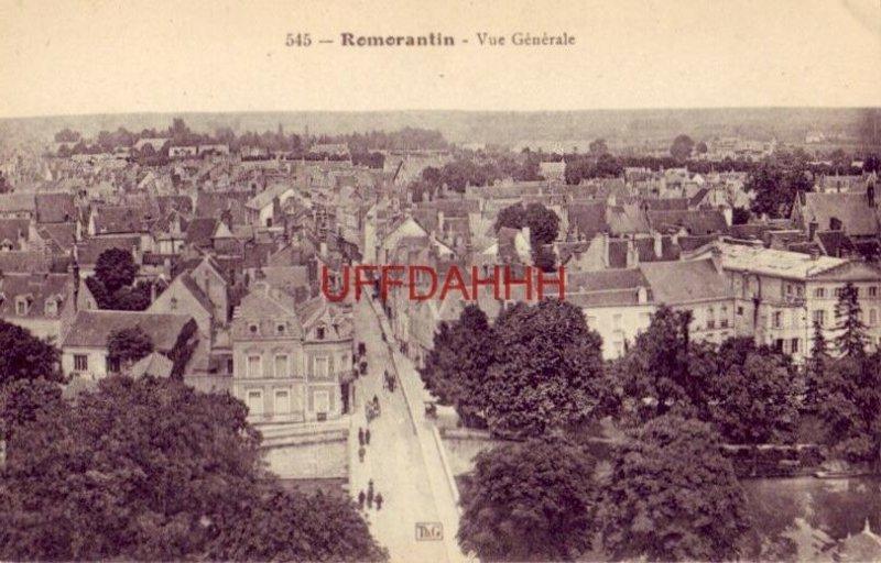 FRANCE. ROMORANTIN - VUE GENERALE