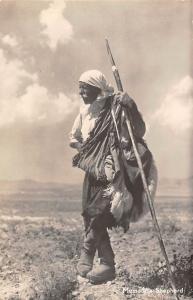 Cyprus Mesaoria Messaoria Shepherd, Folklore ethnic, Postcard