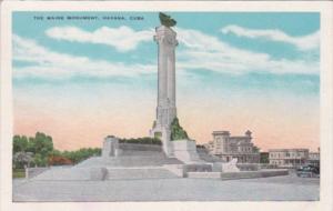Cuba Havana The Maine Monument