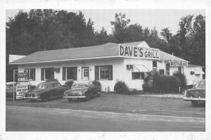Ulmers South Carolina~Dave's Riverside Grill~Roadside Diner~1950s Cars~B&W PC