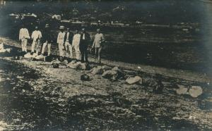 BEHEADING CHINESE EXECUTION ANTIQUE REAL PHOTO RPPC