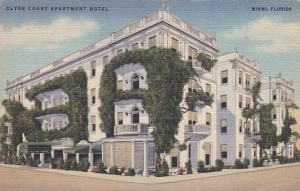 MIAMI , Florida , 30-40s ; Clyde Court Apartment Hotel