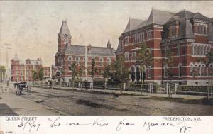 FREDRICTON , New Brunswick , Canada , PU-1907 ; Queen Street