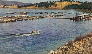 Folsom Lake Marina Postcard Northern California Boat Docks
