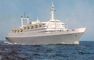 STEAMERS; 1950-1960's; Flagship Rotterdam, Holland-American Line