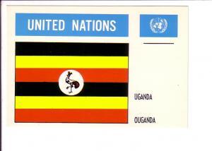 Uganda, Flag, United Nations