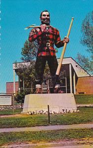 Statue Of Paul Bunyan at Bangor Maine